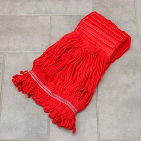 """Насадка моп """"Кентукки"""", 350 гр, цвет красный"""