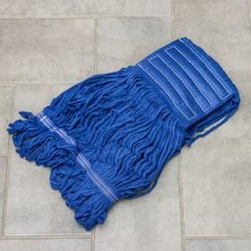 """Насадка моп """"Кентукки"""", 350 гр, цвет синий"""