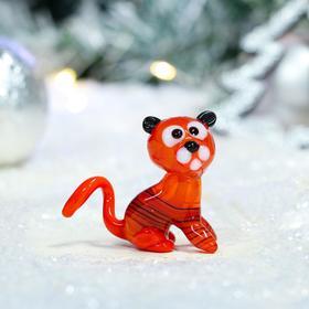 "Фигурка стеклянная ""Тигр"", символ года 2022, 5.5х3х5 см, микс"
