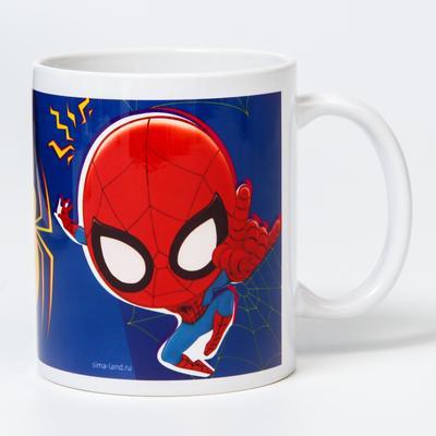 "Кружка сублимация ""Паук"", Человек-паук 350 мл."