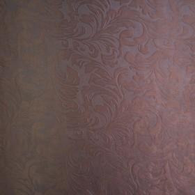 Штора портьерная Водевиль 135х260 см, цв шоколад, блэкаут тиснение, п/э 100%