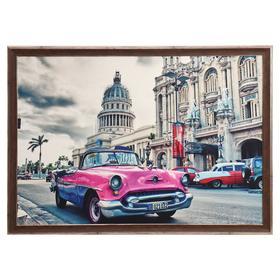 "Картина велюр ""Гавана"" 100х70 (107х77) см"