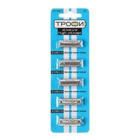"Батарейка алкалиновая ""Трофи"" Alkaline, А23 (MN21)-5BL, 12В, блистер, 5 шт."