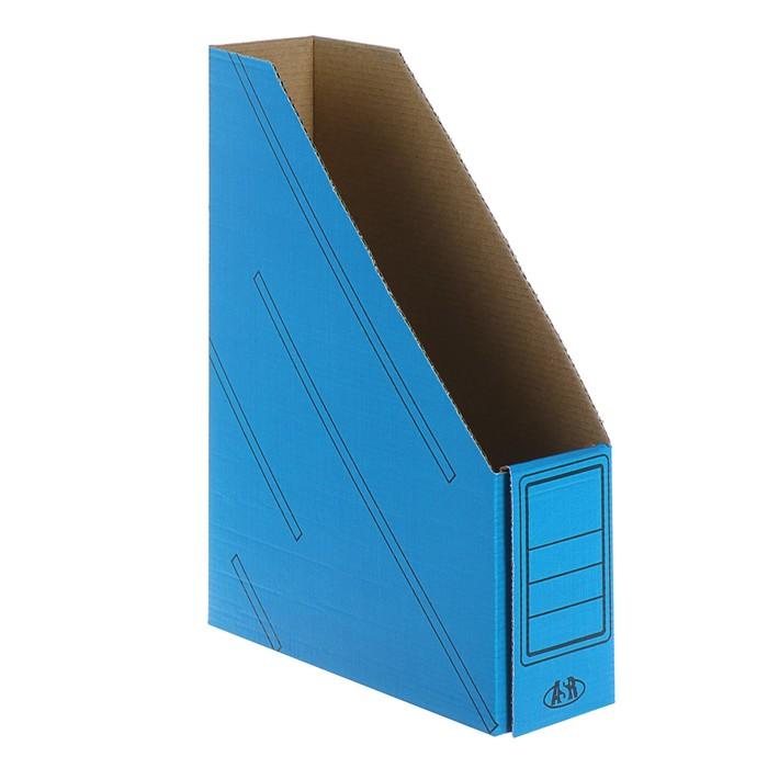 Накопитель архивный 75мм, синий