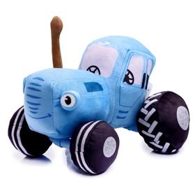 Мягкая музыкальная игрушка «Синий трактор», 20 см