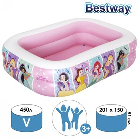 Бассейн надувной Princess, 201 х 150 х 51 см, от 6 лет, 91056 Bestway