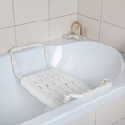 Сиденье для ванны раздвижное, цвет белый - фото 308319787