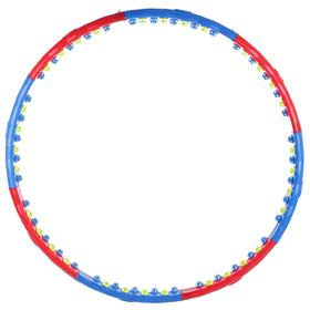 Обруч массажный, d=108 см, 8 частей, 1,35 кг
