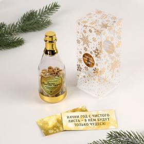 Пожелания в бутылке «Зима - Время чудес», 12х5см