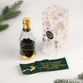 Пожелания в бутылке «Счастья в новом гноду!», 12х5см