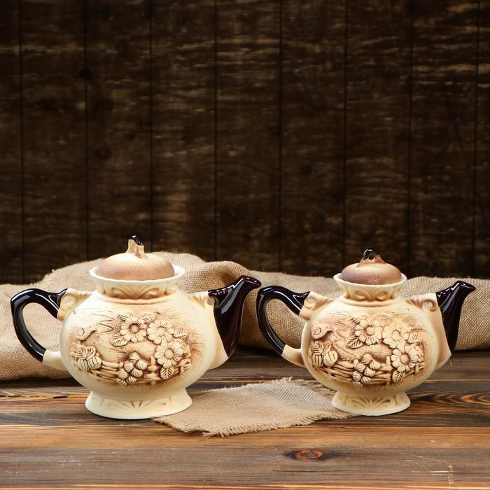 "Чайная пара ""Карачун"" чайник 2 л/ 1,4 л"
