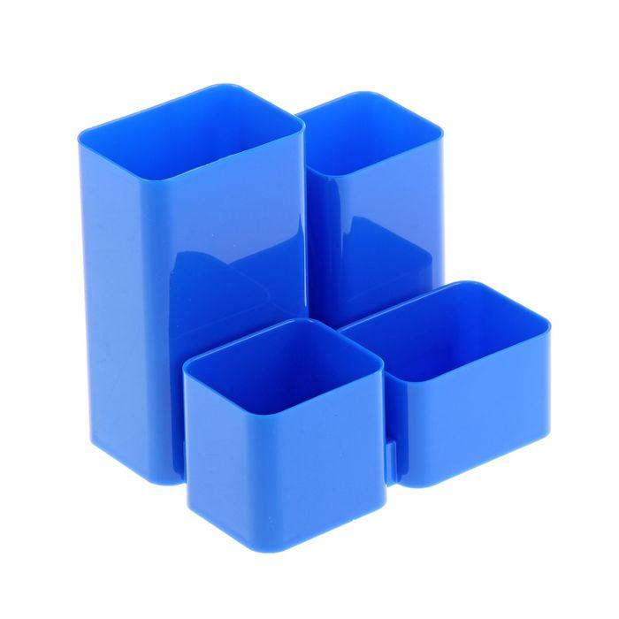 """Настольная подставка-органайзер """"Юниор"""", синий"""