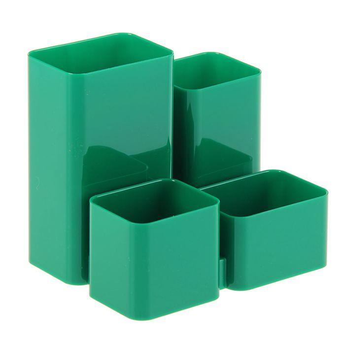 """Настольная подставка-органайзер """"Юниор"""", зелёный"""