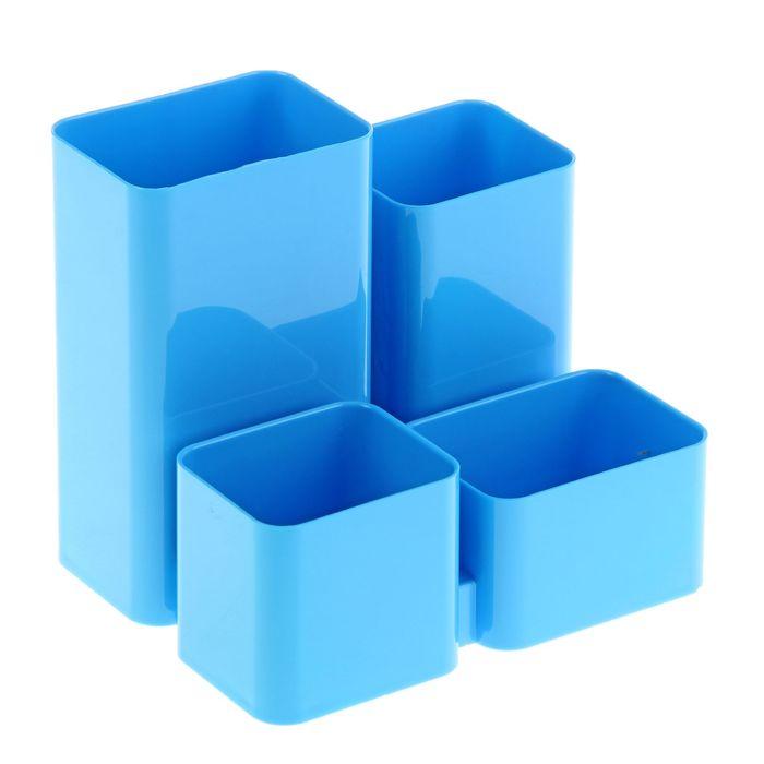 """Настольная подставка-органайзер """"Юниор"""", голубой BLUE"""