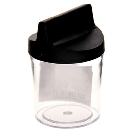 Подставка для скрепок магнитная «СТАММ», чёрная