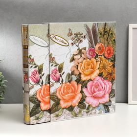 "Фотоальбом ""Мемуары"" на 400 фото 10х15 см, в коробке, МИКС - фото 7281386"