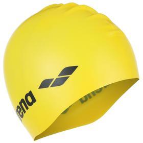 Шапочка для плавания ARENA Classic Silicone, 9166235, цвет жёлтый, силикон