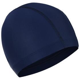 Шапочка для плавания ARENA Unix II, 002383101, цвет тёмно-синий, полиамид/эластан, 3 панели