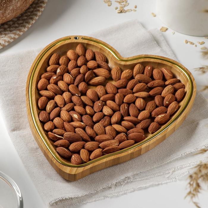 Блюдо для подачи Доляна «Цветение», d=23 см, бамбук