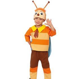"""Костюм карнавальный """"Пчелёнок"""", куртка, бриджи, шапочка р.30, рост 122 см  4692396"""