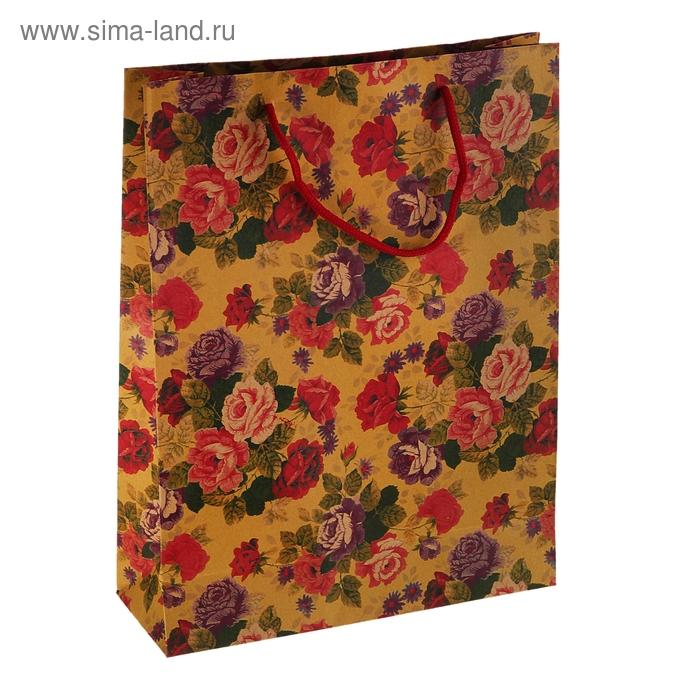 "Пакет крафт ""Многоцветие"""