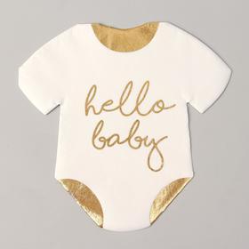 Салфетки бумажные Hello Baby, 32 см, набор 20 шт