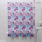 """Штора для ванной 180х180 см, EVA """"Цветные сны"""""""