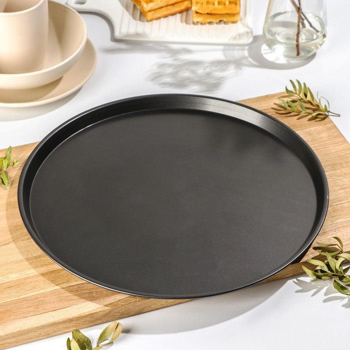 "Form pizza 35 cm ""Jacqueline. Pizza"", non-stick coating"