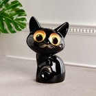 "Копилка ""Котёнок"" зелёные глаза"