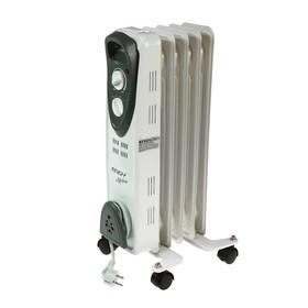Радиатор ENGY EN-2205 Modern, масляный, 1000 Вт, 5 секций, белый