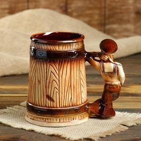 """Кружка для пива """"Моряк"""" 0,5 л, микс - фото 1398730"""