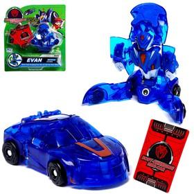"""Робот-трансформер """"Крутой герой"""", автоматическая трансформация, EVAN"""