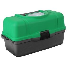 УЦЕНКА Ящик Helios трехполочный, цвет зеленый