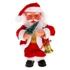 Дед Мороз, с ёлкой, музыкальный
