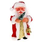 Дед Мороз, с колокольчиком, русская мелодия