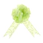 """Бант-шар №3,8 """"Пайетки"""", цвет зелёный"""