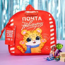 """Набор конфет в рюкзаке """"Почта новогодняя"""", 500 г."""