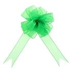 """Бант-шар №2,7 """"Лёгкость"""", цвет зелёный"""