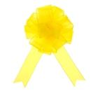"""Бант-шар №5 """"Лёгкость"""", цвет жёлтый"""