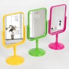 Зеркало настольное, с увеличением, зеркальная поверхность — 12,5 × 15,5 см, МИКС