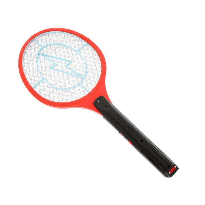 Электрическая мухобойка LUNIG-06, 55х22см,  аккумулятор, микс