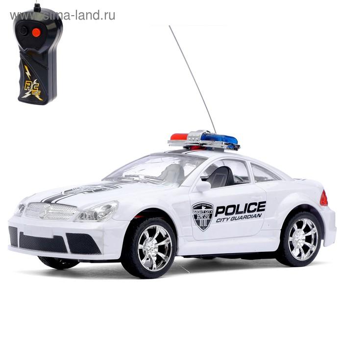 """Машина радиоуправляемая """"Полиция"""", работает от батареек, световые эффекты"""