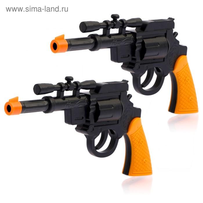 "Набор ковбоя ""Шериф"", 2 пистолета+ значок"
