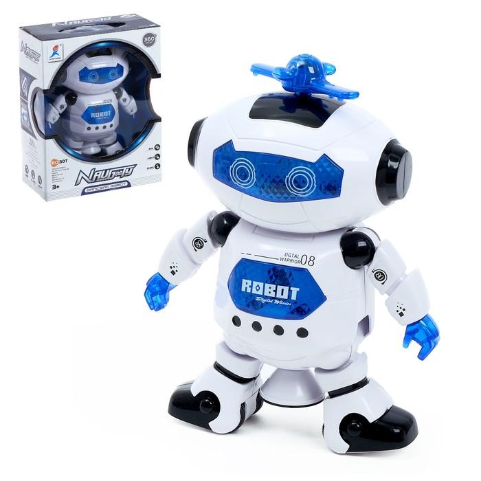 Робот «Космический герой», световые и звуковые эффекты, работает от батареек