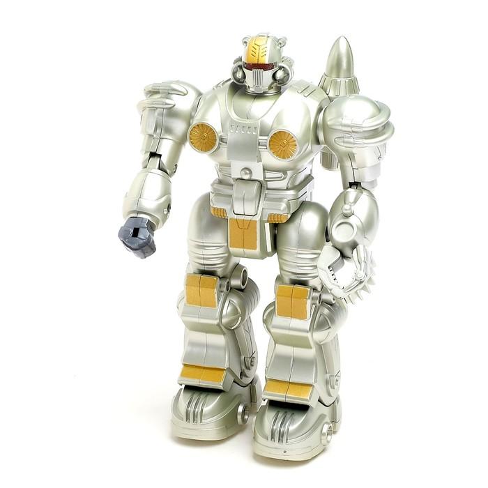 """Робот """"Гладиатор"""", работает от батареек, световые эффекты"""