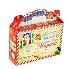 Складная коробка «Новогодняя почта», 25 х 7 см