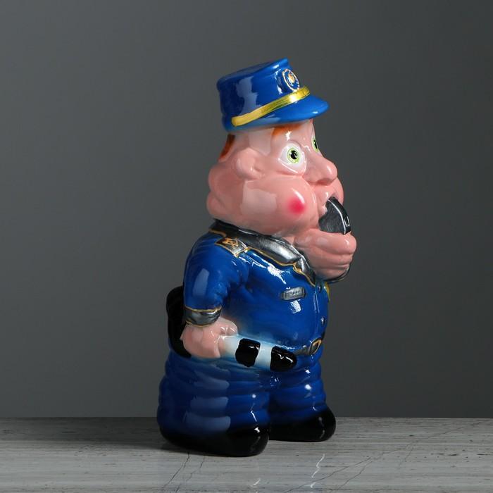 """Копилка """"Полицейский"""" глянец, микс"""