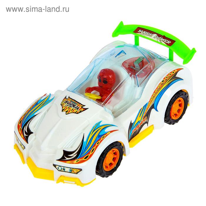 Машина заводная «Космо-болид», световые эффекты, цвета МИКС