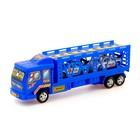 Грузовик инерционный «Автовоз», 2 машинки, цвета МИКС - фото 106533347