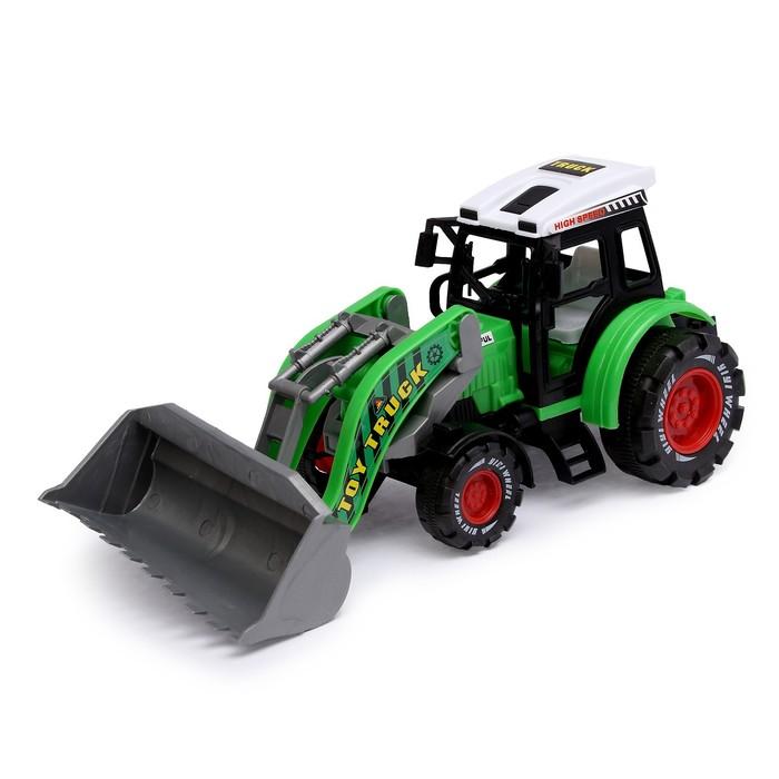 Трактор инерционный «Экскаватор», МИКС - фото 105655362
